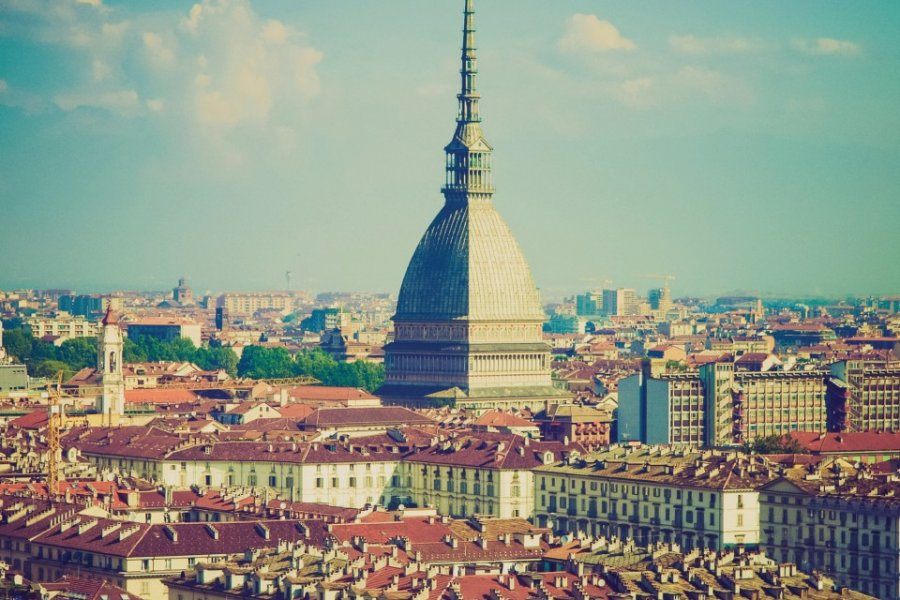 Vue sur Turin et la Mole Antonelliana. (© Claudiodivizia - iStockphoto))