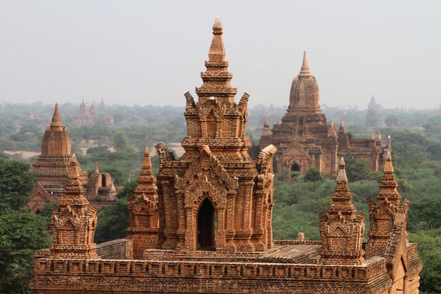 Des temples à perte de vue... (© Stéphan SZEREMETA))
