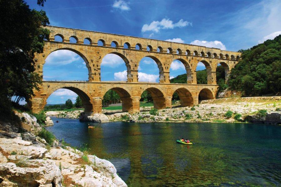 Le pont du Gard. (© 100pk - iStockphoto))