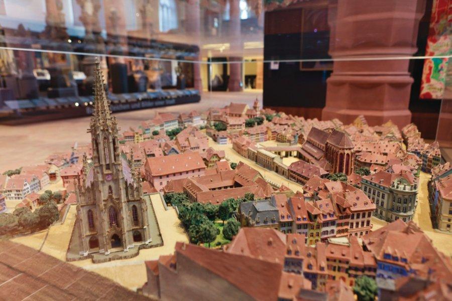 Historisches Museum Basel (musée historique), plan-relief de la ville. (© Philippe GUERSAN - Author's Image))
