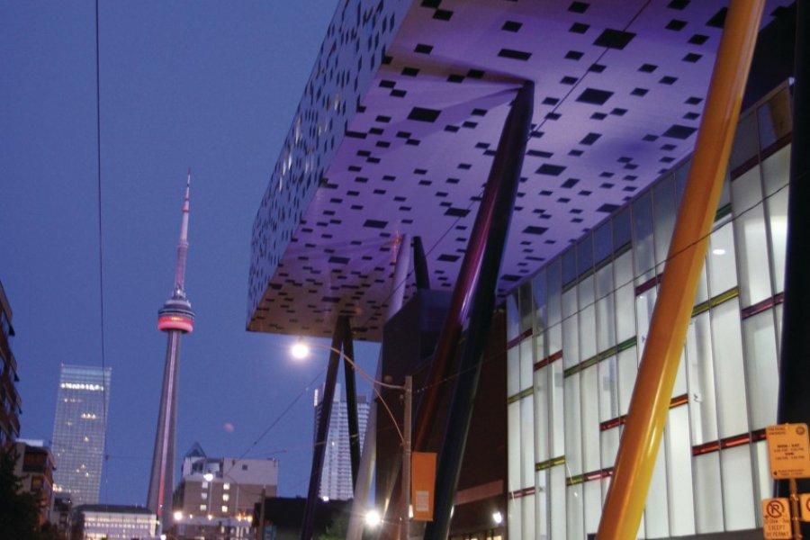 Le Sharp Centre for Design de l'université Ontario College for Art and Design. (© Stéphan SZEREMETA))