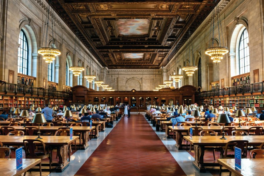 New-York Public Library. (© cla78))