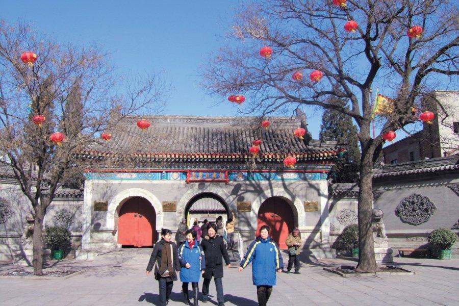 Temple taoïste du Nuage Blanc. (© Stéphan SZEREMETA))