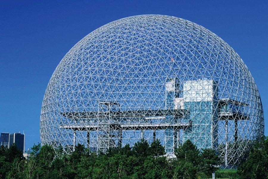 Biosphère, musée de l'environnement. (© Tourisme Montréal, Stéphan Poulin))