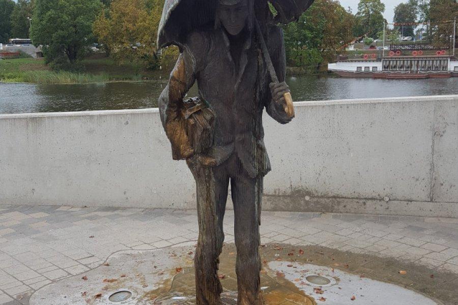 La statue de l'Etudiant. (© Maryna LOGVYNENKO))