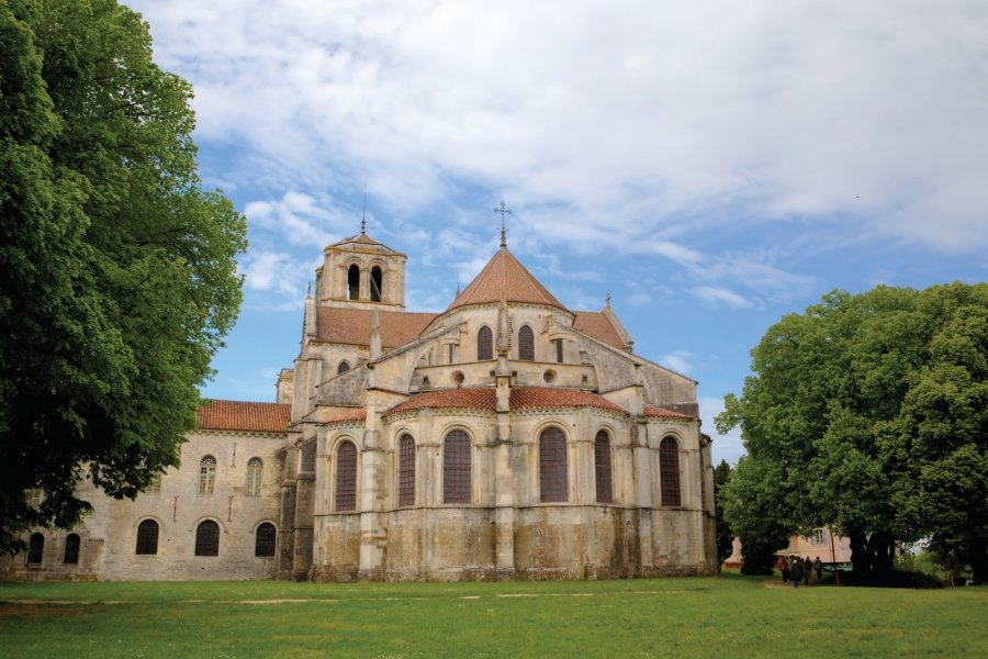 Basilique Sainte-Marie-Madeleine du Vézelay. (© Иван Варюхин - iStockphoto))