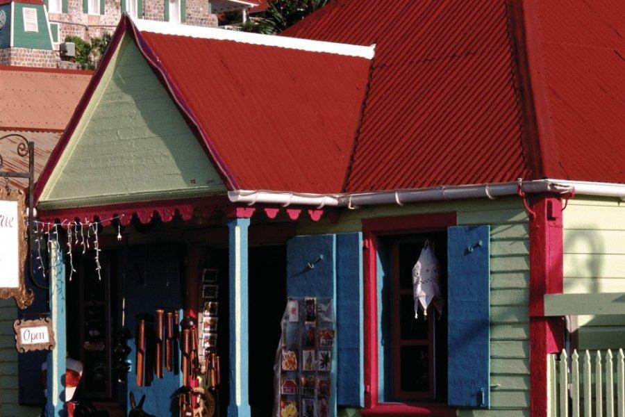 Boutique de Gustavia. (© Author's Image))