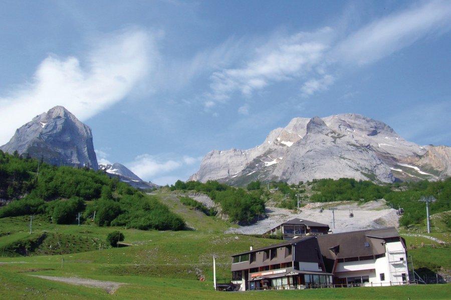Station de ski de Gourette en été (© Yvann K - Fotolia))