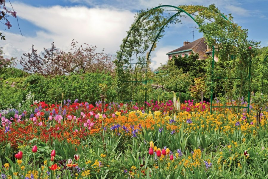 Le jardin de Claude Monnet à Giverny. (© Irakite - iStockphoto))