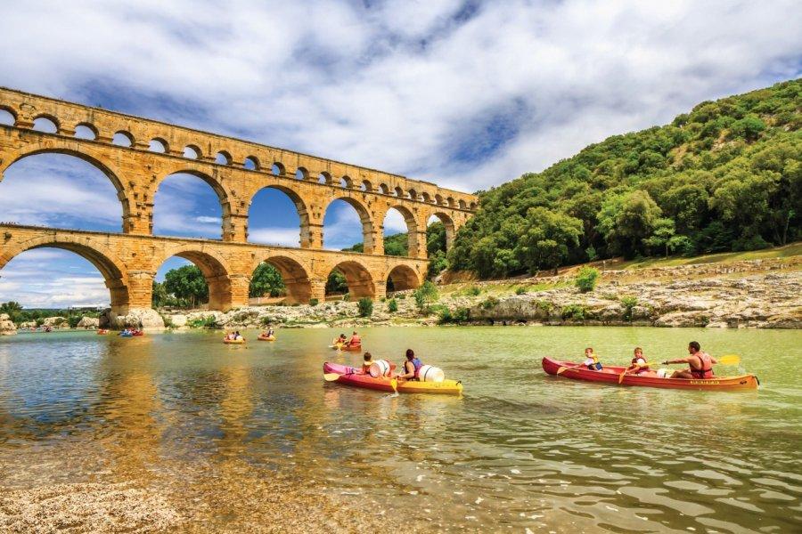 Le pont du Gard. (© Sime))