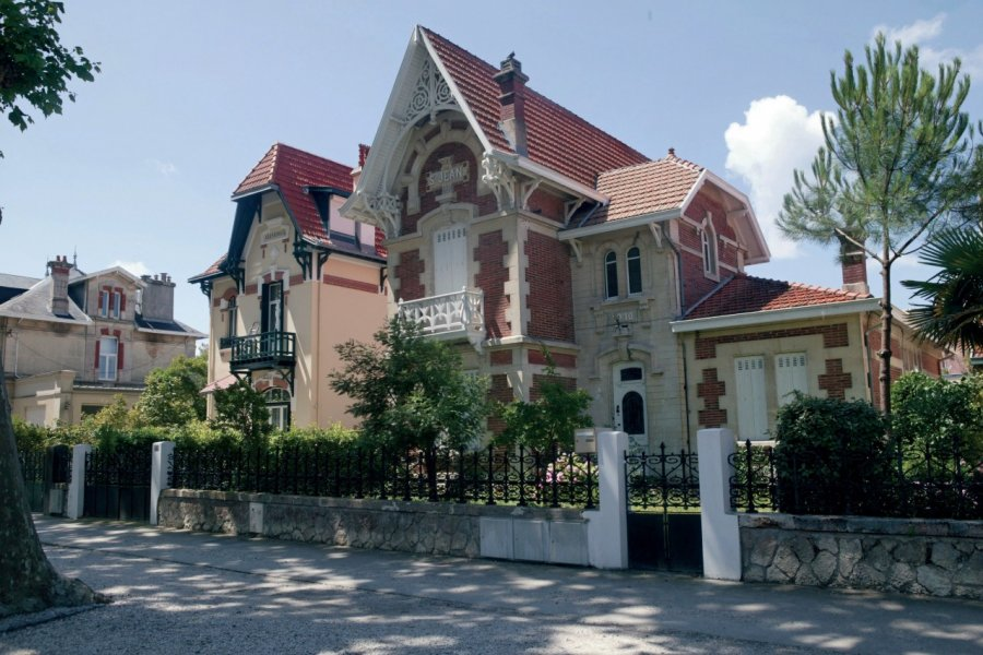Villa - Arcachon. (© BP Lamarque))