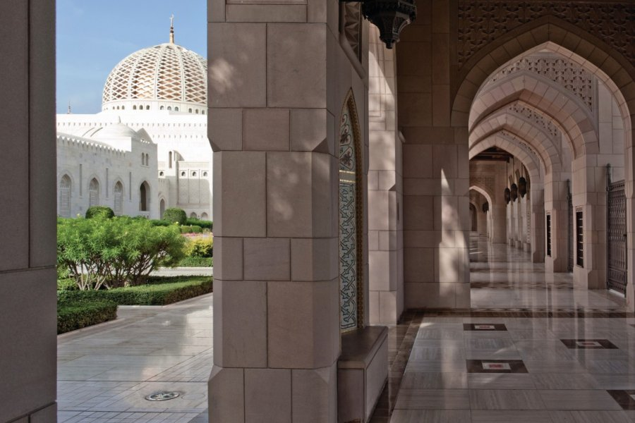 Grande mosquée Sultan Qaboos. (© OT Oman))