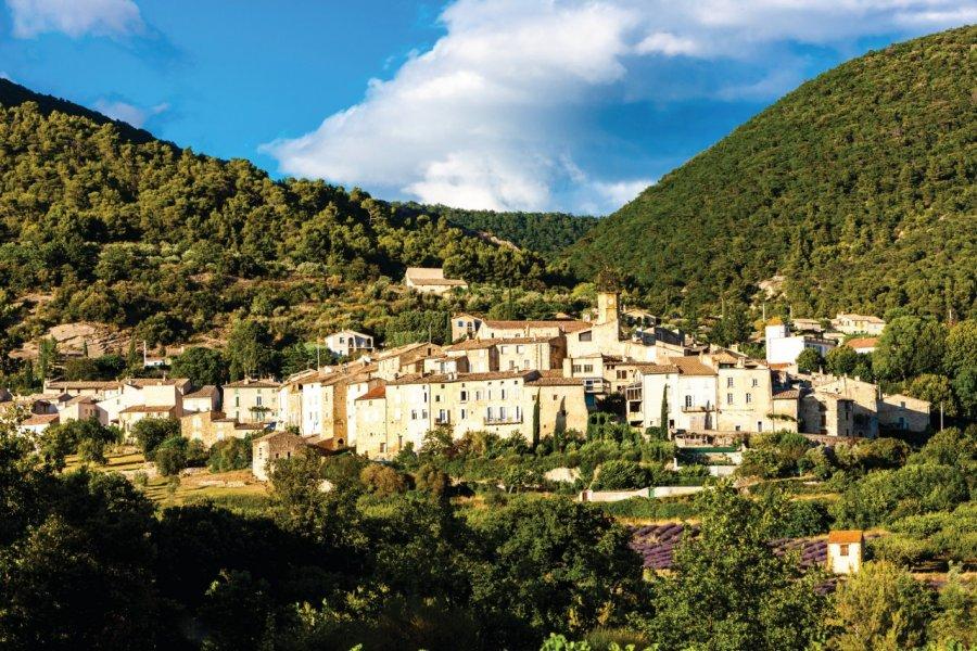 Le village de Venterol. (© Phbcz - iStockphoto))