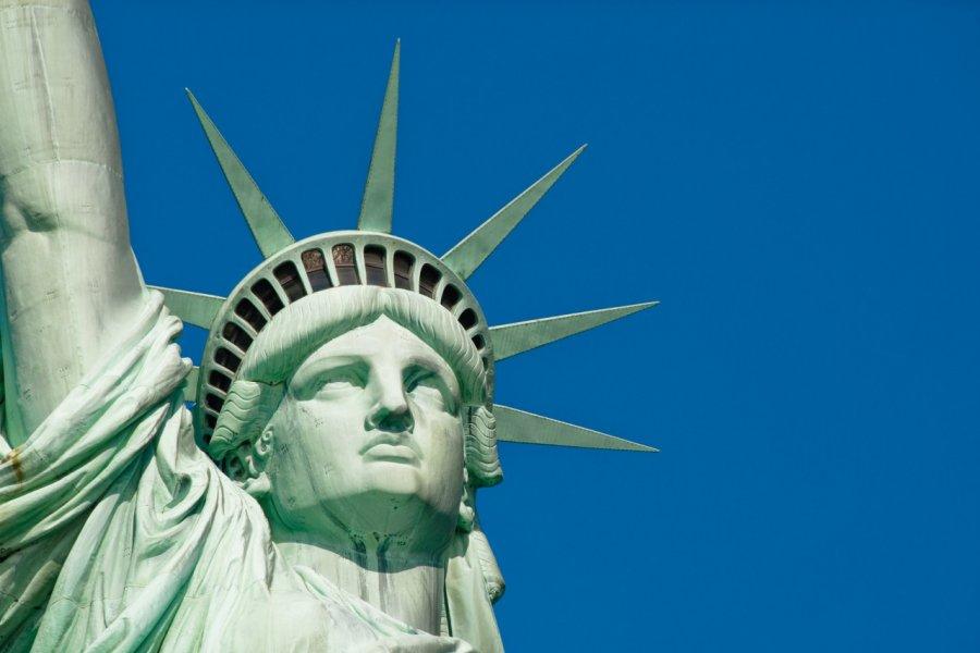 Statue de la Liberté sur Liberty Island. (© Author's Image))