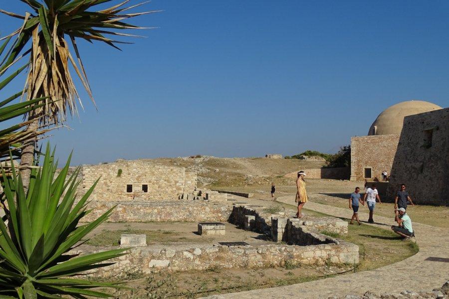 à l'intérieur de la forteresse de Rethymnon. (© Pauline BOYER))
