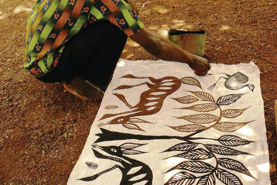 A Fakaha, où Picasso aurait séjourné lors de son passage en Côte d'Ivoire. (© Elodie VERMEIL))