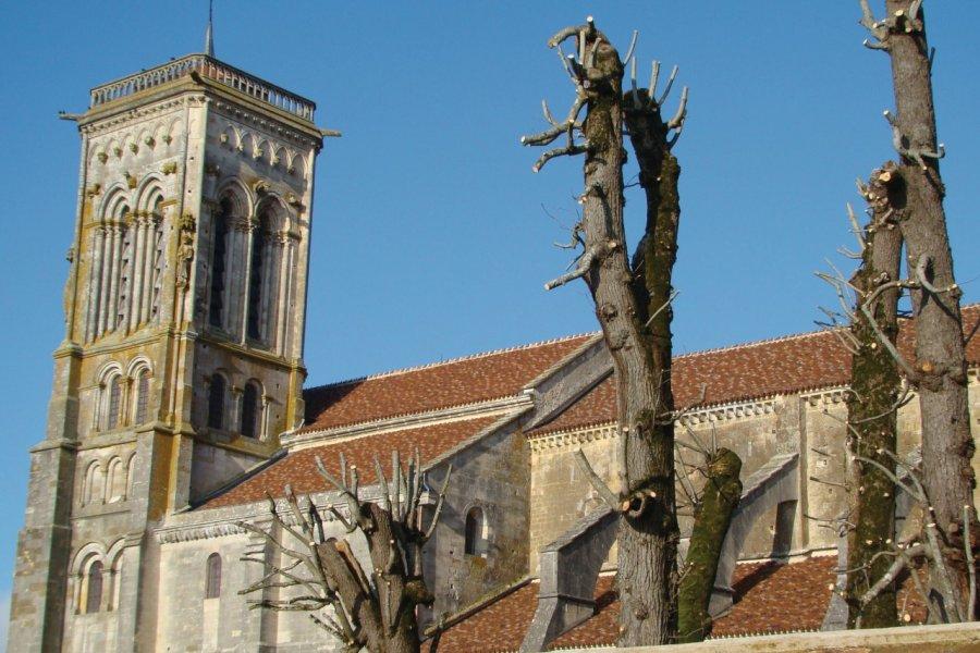 La basilique Sainte-Marie-Madeleine de Vézelay (© Julia Valentin))