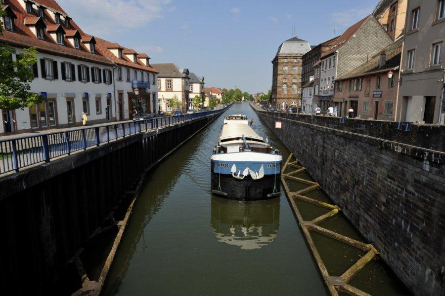 Canal de la Marne au Rhin (© Bluesky6867 - Fotolia))