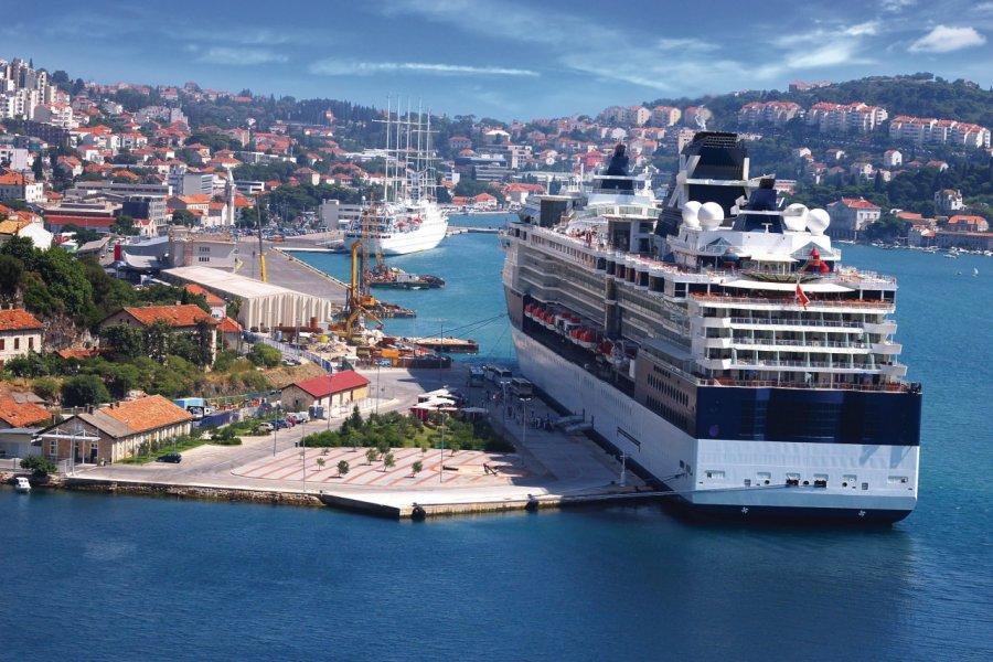 Gruž, le port de Dubrovnik. (© Marina Ignatova - Fotolia))