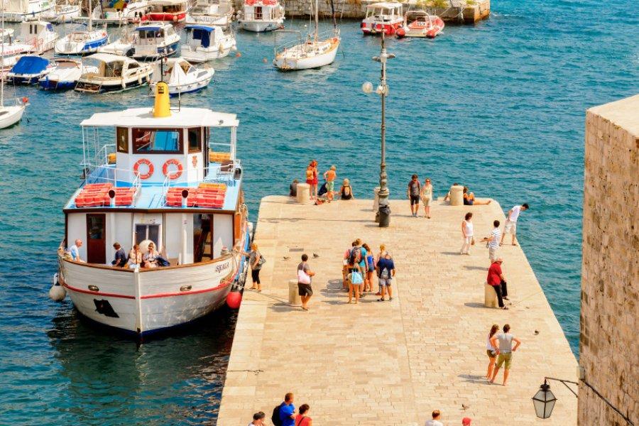 Le port de Dubrovnik. (© Anton_Ivanov - Shutterstock.com))