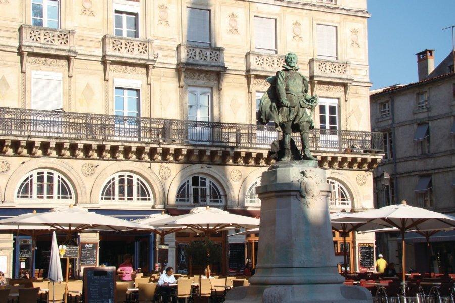 Place de la mairie (© CMT17 - E. COEFFE))