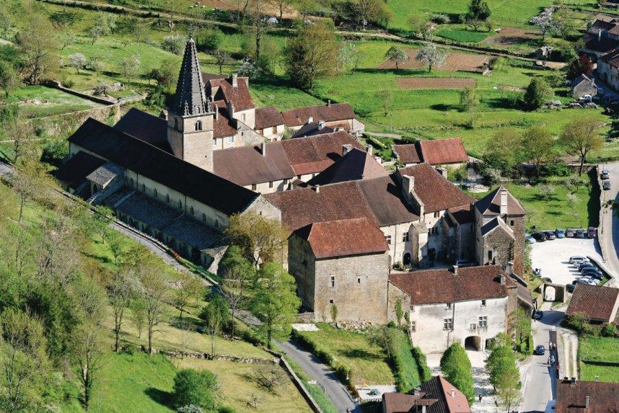L'abbaye de Baume-les-Messieurs (© Mattei - Fotolia))