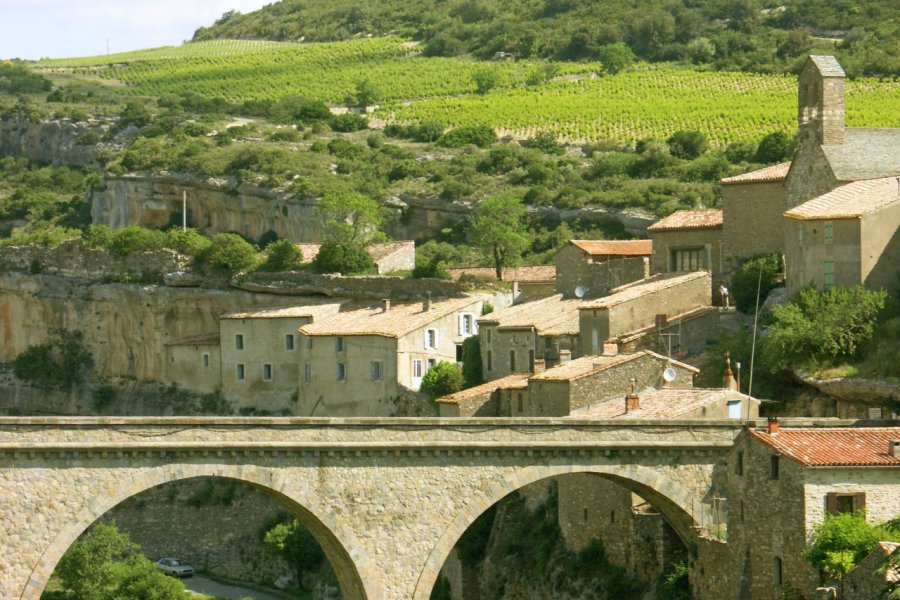 Le village de Minerve. (© Unclesam - Fotolia))