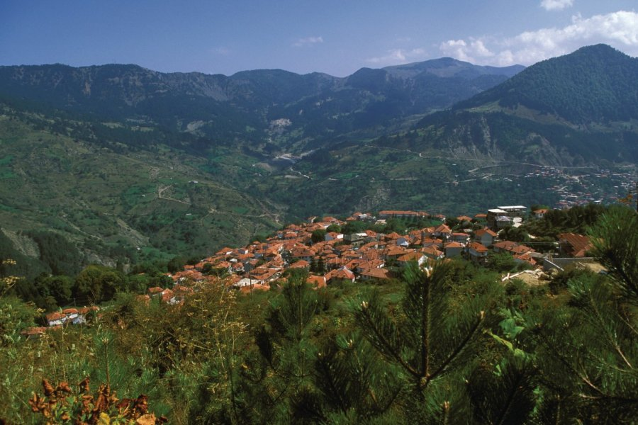 Village de Metsovo. (© Author's Image))