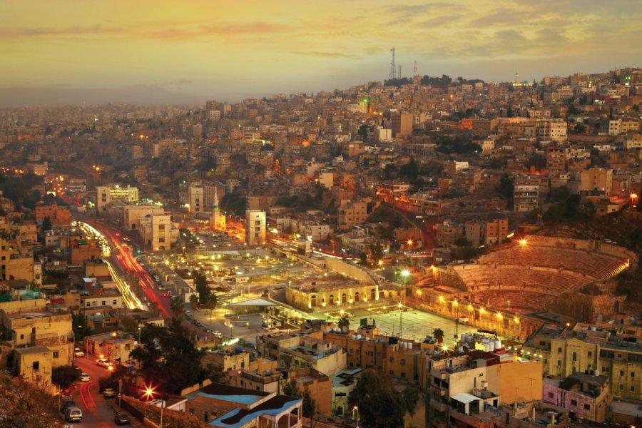 Les lumières de la ville d'Amman. (© Silverjohn - iStockphoto))