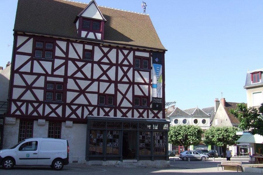 L'office de tourisme d'Issoudun dans une belle demeure du XVème siècle. (© Laëtitia STEIMETZ))