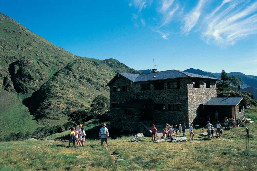 Refuge du Coma pedrosa (© Ministère du Tourisme du Gouvernement d'Andorre))