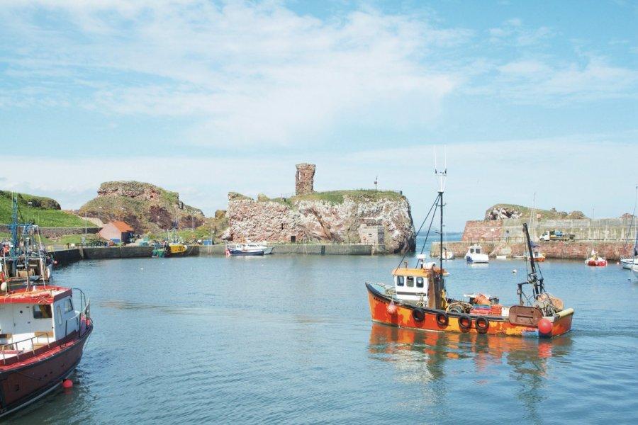 Port et château de Dunbar. (© denovan - iStockphoto.com))