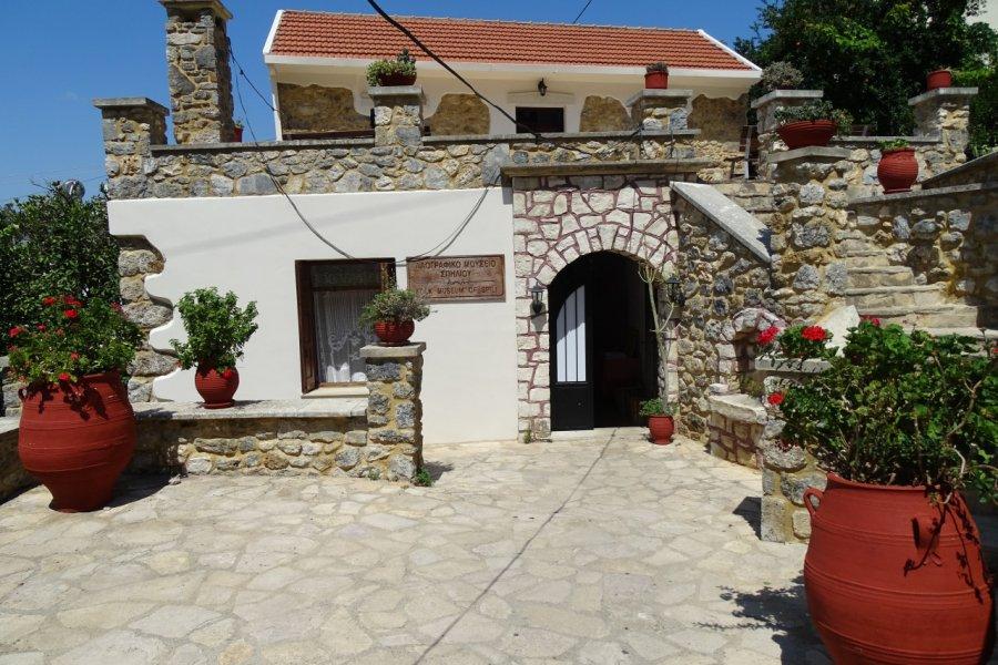 Le petit musée folklorique de Spili. (© Pauline BOYER))