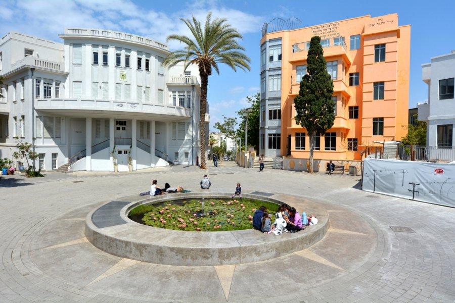 Bialik Square. (© ChameleonsEye - Shutterstock.com))