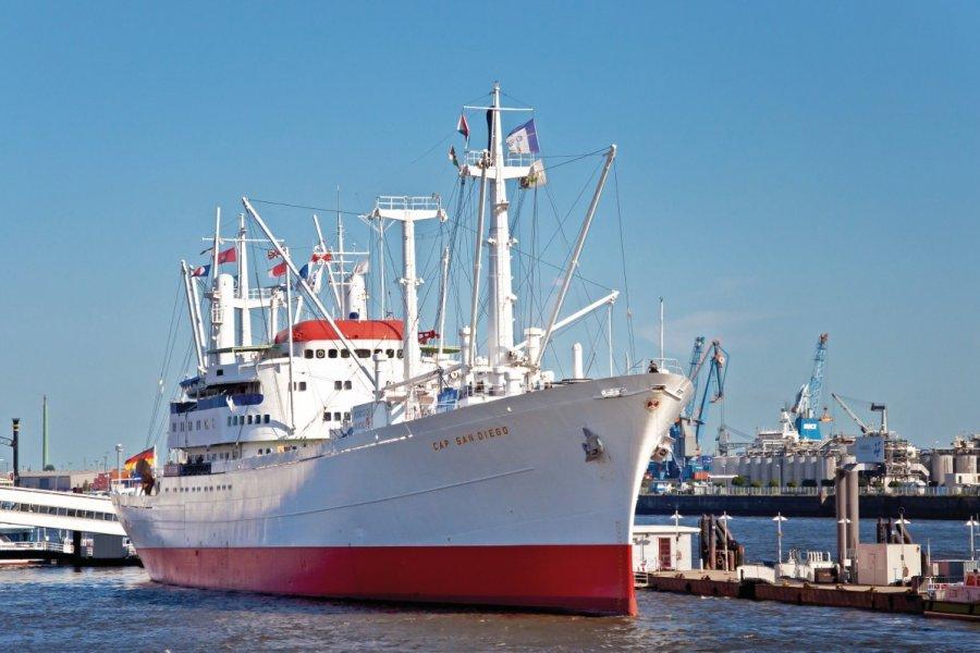 MS Cap San Diego. (© thorabeti - Fotolia))