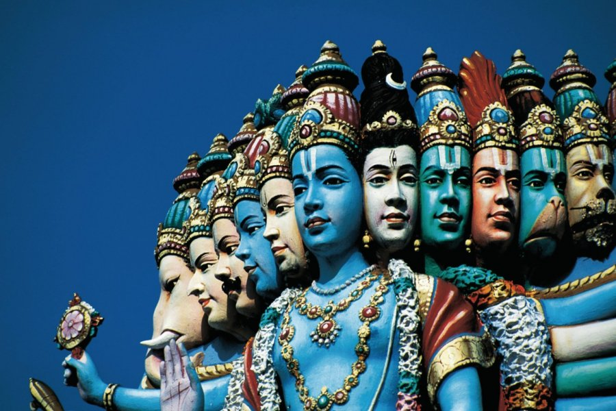 Temple hindou Sri Perumal. (© Cali - Iconotec))
