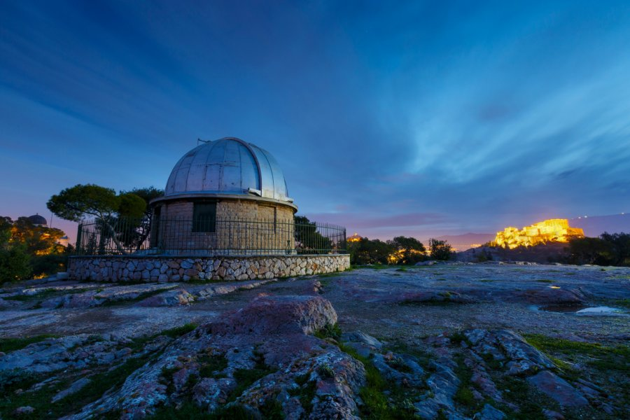 L'Observatoire national d'Athènes. (© Milan Gonda  - Shutterstock.com))