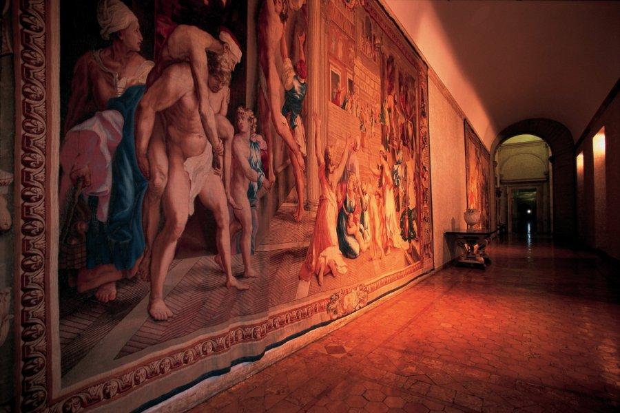 Gallerie du palazzo Farnèse. (© S. Remain - Iconotec))