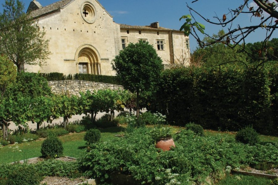 Jardin du Musée de Salagon. (© C Brau))