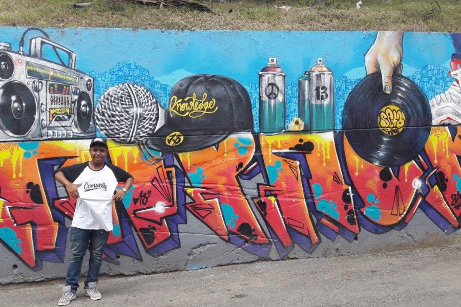 Culture hip hop, Comuna 13. (© Nicolas LHULLIER))