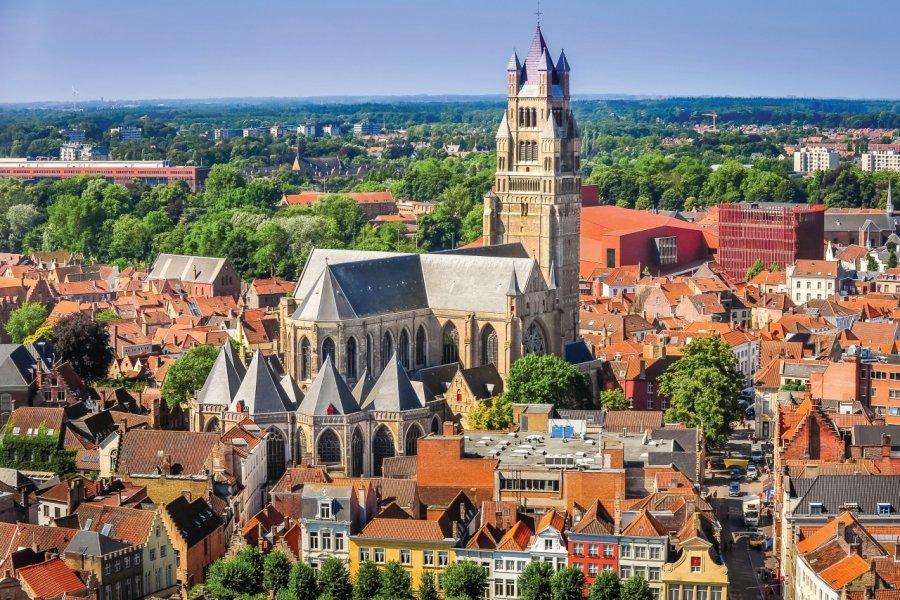 Vue sur la vieille ville de Bruges. (© MartinM303 - iStockphoto))