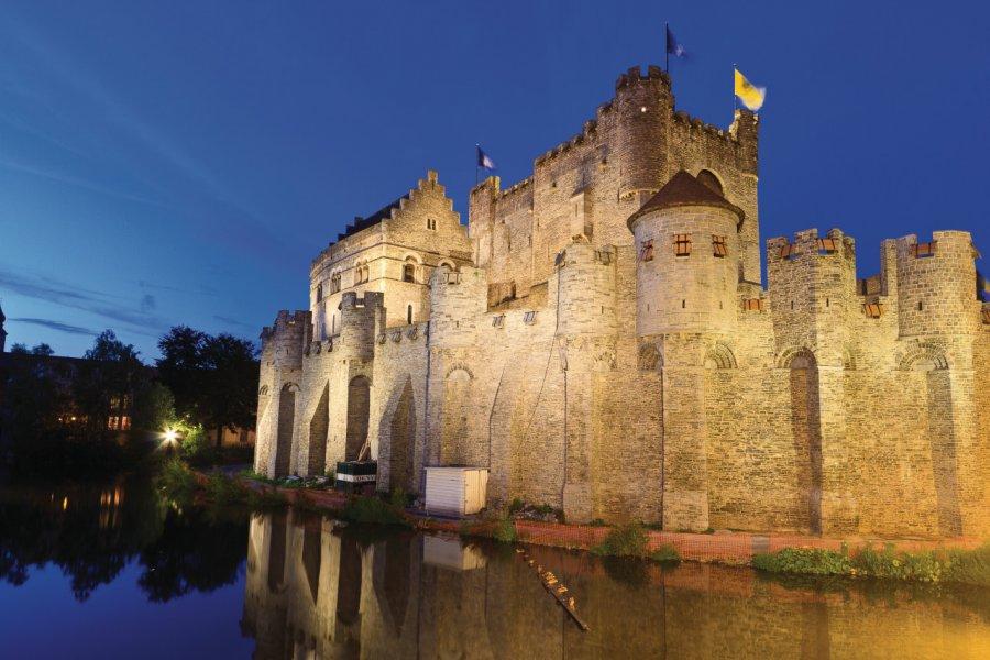 Château des Comtes de Flandres (Gravensteen). (© Lawrence BANAHAN - Author's Image))