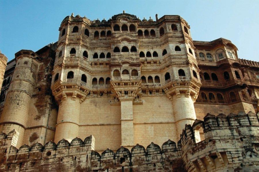 Forteresse de Jodhpur (Mehrangarh). (© Nicolas HONOREZ))