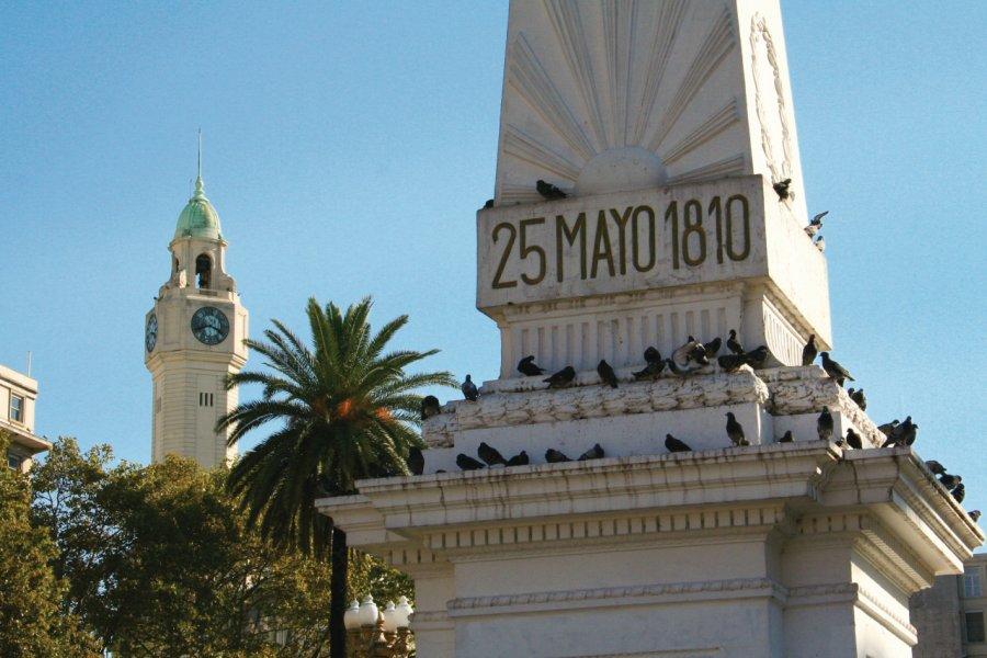 Monument de la Plaza de Mayo, en mémoire de la révolution argentine de 1810. (© Maxence Gorréguès))