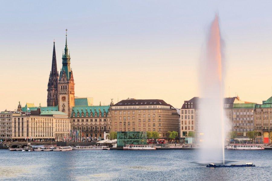 Vue sur Hambourg. (© Fabian Wentzel - iStockphoto))