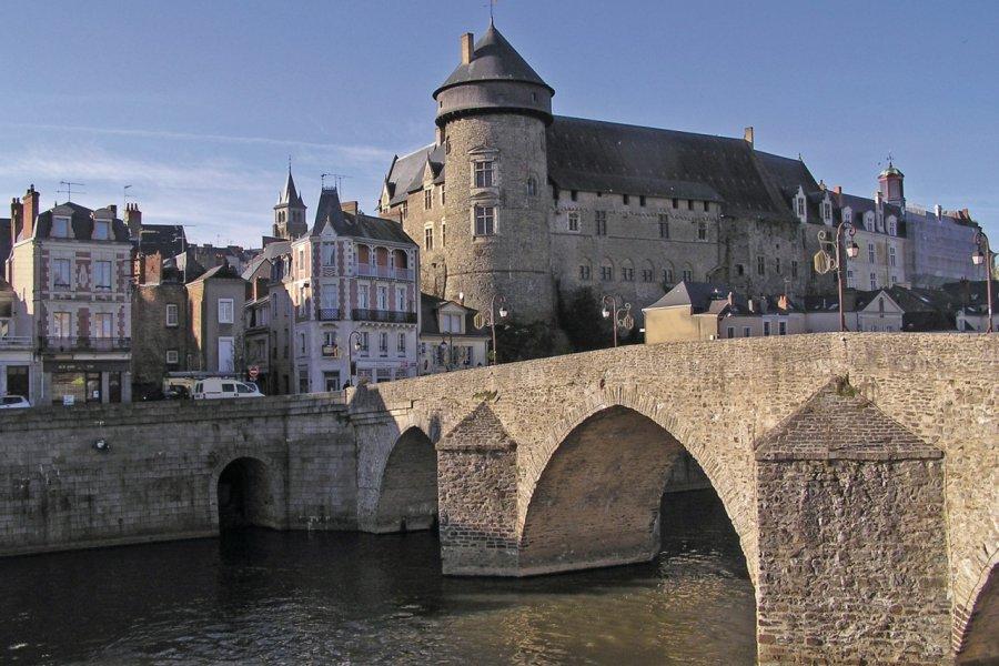 Le Vieux-Château de Laval et le vieux pont (© Michel BAZIN - Fotolia))