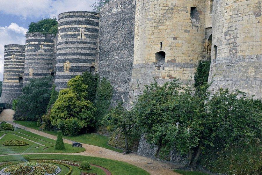 Le château d'Angers (© DX - Fotolia))