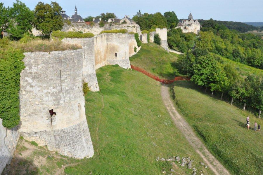 Vestiges du château des Sires de Coucy. (© Catherine FAUCHEUX))