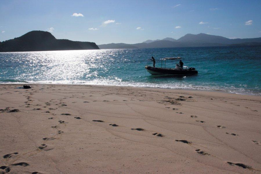 L'îlot de sable blanc fait partie des incontournables! (© Stéphan SZEREMETA))