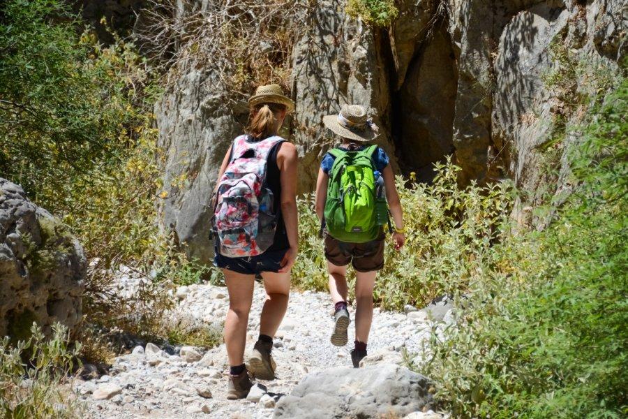 Promenade dans les gorges d'Imbros. (© Kovankin Sergey - Shutterstock.com))